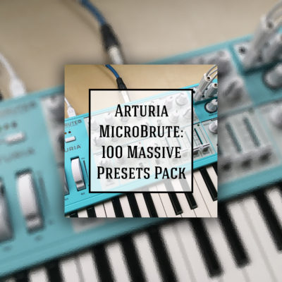 Arturia MicroBrute sound library - buy and download
