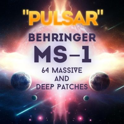 Behringer MS-1 - 64 Massive and Deep Patches